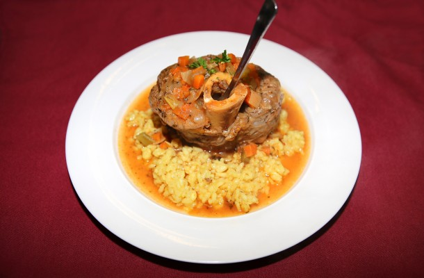 Veal Osso Buco alla Milanese