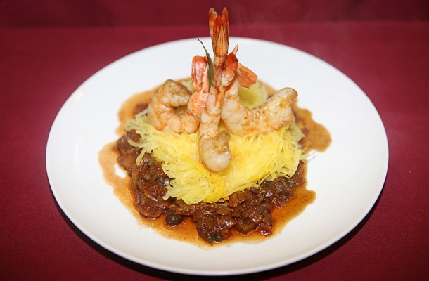 Shrimp alla Siciliana