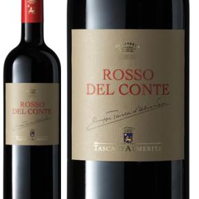 """Tasca d'Almerita """"Rosso del Conte"""" Contea di Sclafani DOC (1998) PNG"""