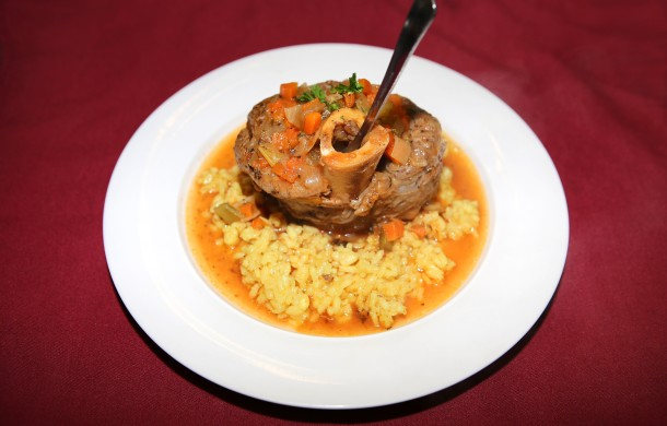 Entree of the day: Veal Osso Buco alla Milanese